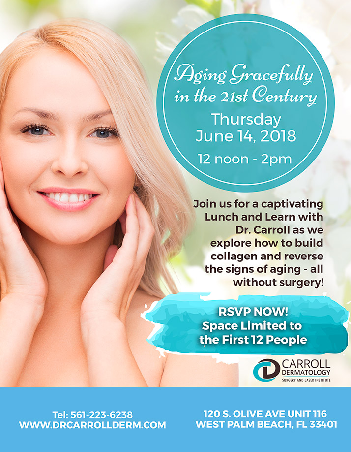 Dr. Caroll Event Flyer